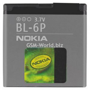 ORIGINAL BATTERY NOKIA BL-6P-NEW
